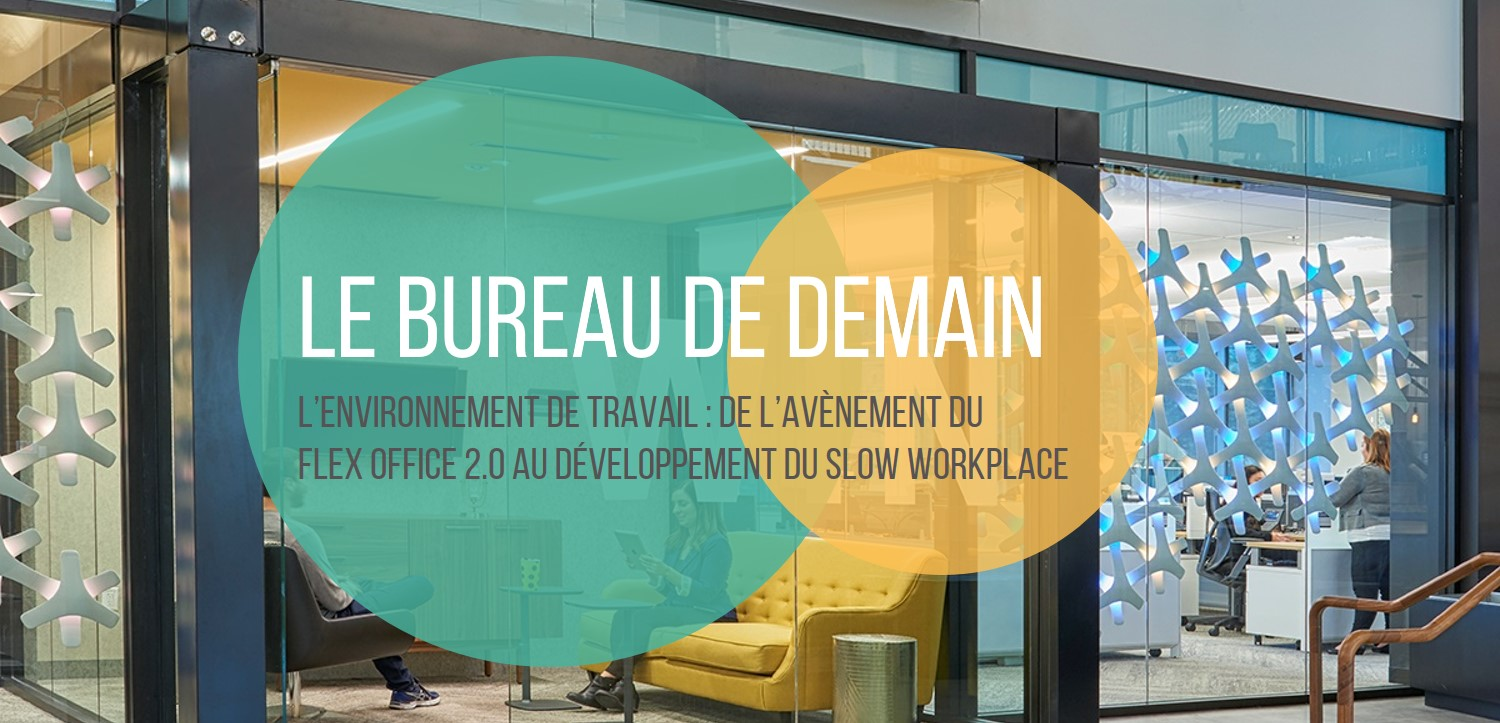 Etude Flex Office - Le bureau de demain